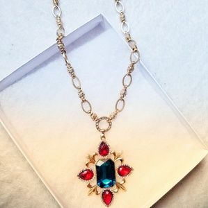 New Baroque style Jewels Necklace
